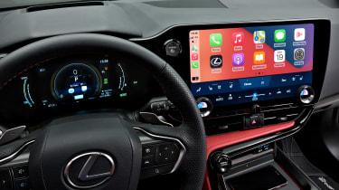 Lexus NX - infotainment