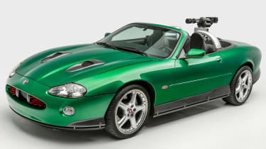 Petersen Automotive Museum - Jaguar XKR James Bond - front static