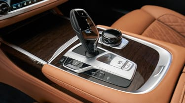 BMW 750i - transmission
