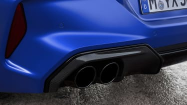 BMW M8 Competition - exhausts