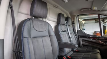 MS-RT Ford Transit Custom rear seats