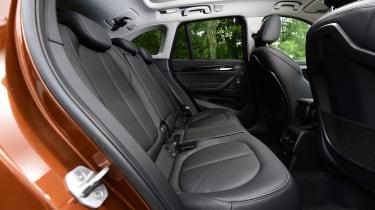 BMW X1 2016 - rear seats
