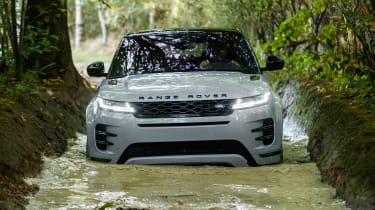 new 2019 range rover evoque off-road