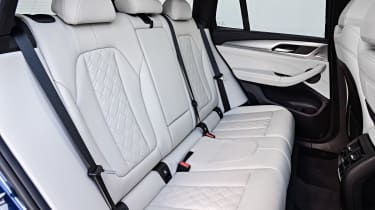 BMW X3 M40i - rear seats