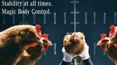 Mercedes Chicken advert