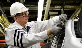Toyota factory - engineering
