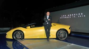 Lamborghini Huracan rear-wheel drive Spyder 8