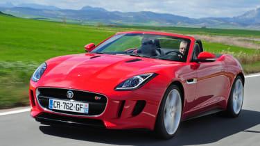 Jaguar F-Type S front tracking