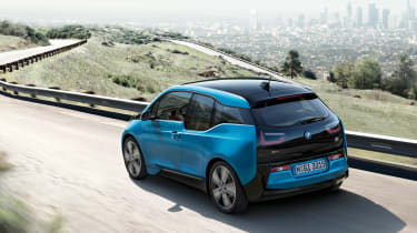 BMW i3 94Ah - rear tracking