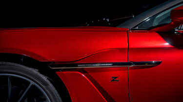 Aston Martin Vanquish Zagato - side detail