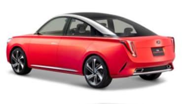 Daihatsu DN Compagno - rear