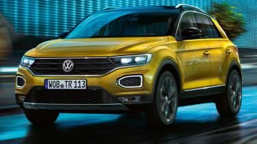 Volkswagen T-Roc: technology when you work, rest and play (sponsored) - front grille