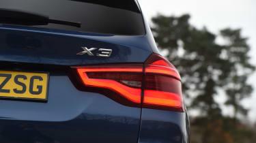 BMW X3 - taillight