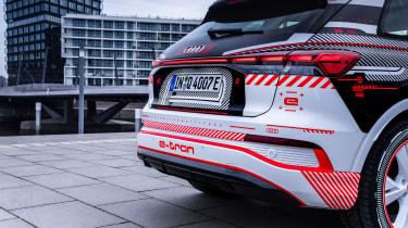 Audi Q4 e-tron prototype - rear light