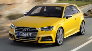 Audi S3 hatch 2017 - front action