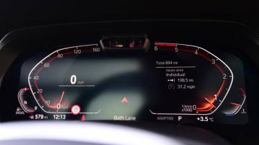 BMW X5 - dials