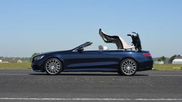 Convertible megatest - Mercedes S 500 Convertible - roof