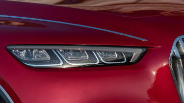 Vision Mercedes-Maybach Ultimate Luxury concept - front light