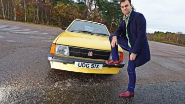 Vauxhall Astra - Mk1 pose
