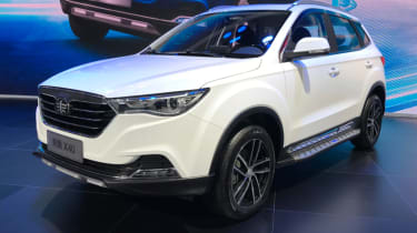 Chinese copycat cars - FAW Besturn X40