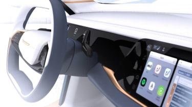 Chrysler Airflow Vision Concept - infotainment