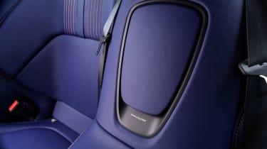 Aston Martin DB11 V8 - rear interior detail