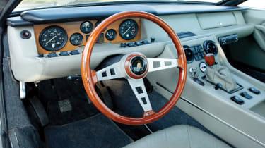 RM Sotheby's 2017 Paris auction - 1970 Lamborghini Jarama 400 GT interior