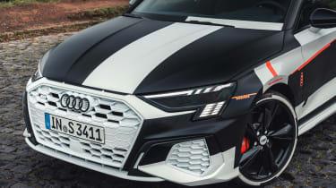 Audi S3 prototype - front detail
