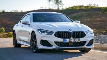 BMW 8 Series Gran Coupe - front action