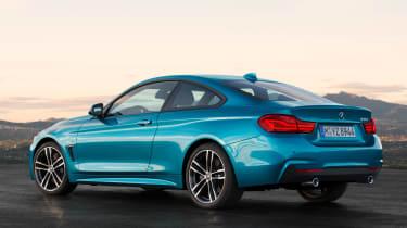 BMW 4 Series facelift 2017 - rear quarter