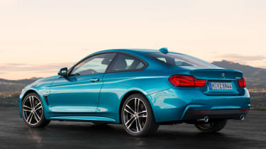 BMW 4 Series facelift 2017 - rear quarter