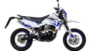Lexmoto Adrenaline 125 efi review - side profile