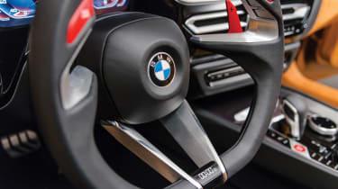BMW Concept Z4 - steering wheel