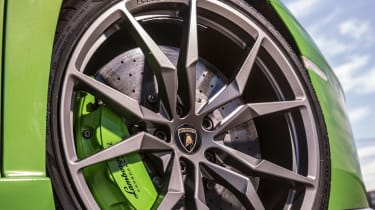 Lamborghini Aventador S - wheel detail