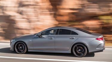 Mercedes CLS - side