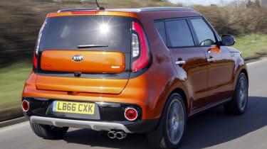Kia Soul Sport - rear