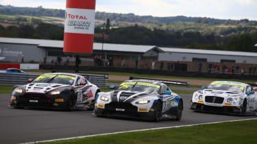 British GT 2018 - Donington racing