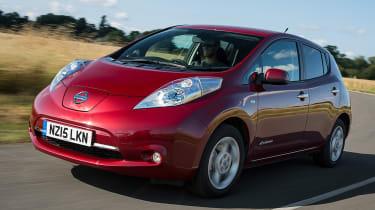 Driver Power 2017 - Best engine and gearbox winner Nissan Leaf