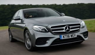 Mercedes E 350d 2016 - front tracking