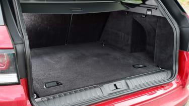 Range Rover Sport SVR - boot