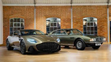 Aston Martin DBS Superleggera On Her Majesty's Secret Service - front group