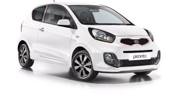 Kia Picanto facelift front