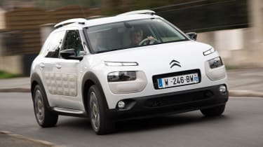 Citroen Advanced Comfort Concept 2017 - Cactus cornering