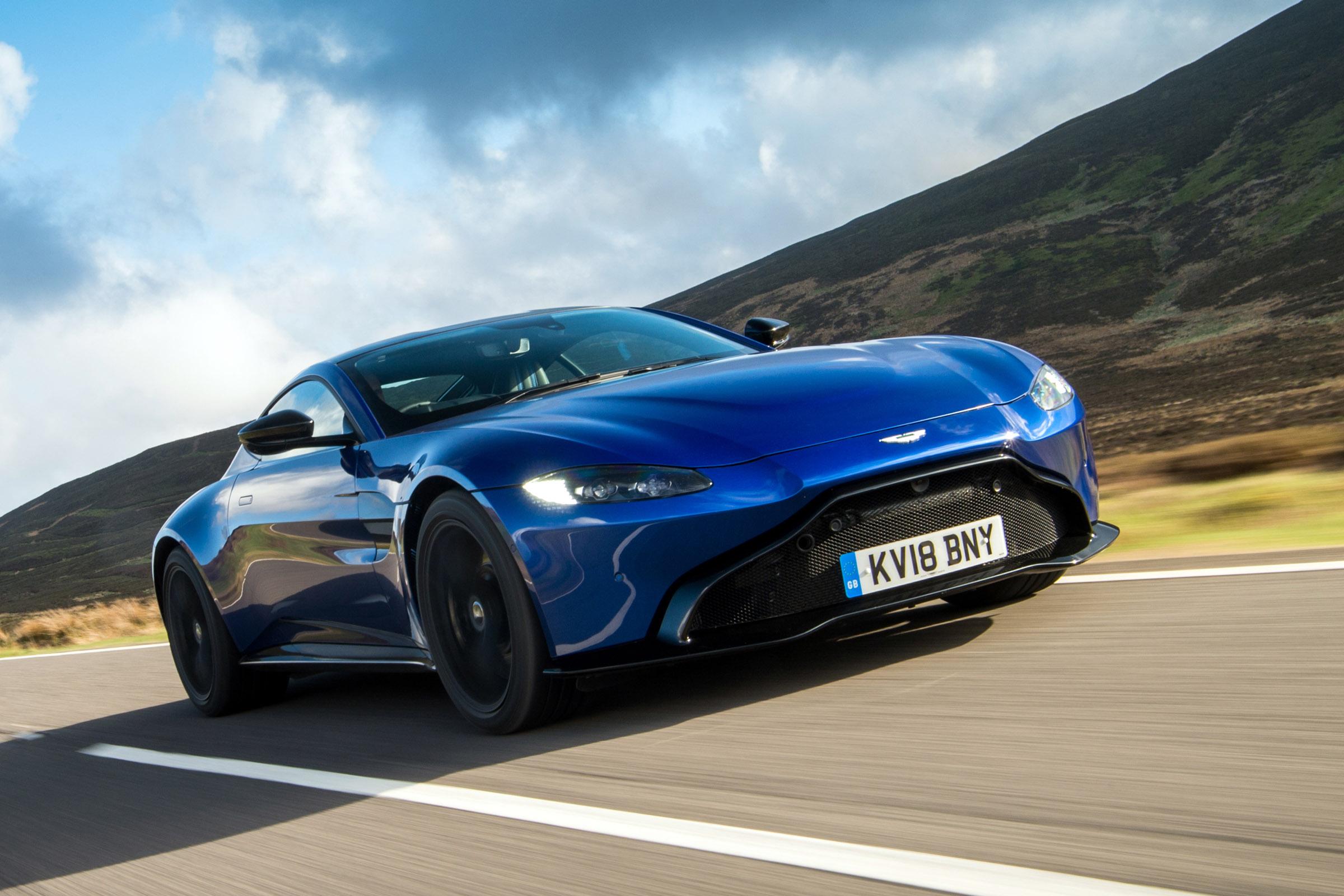 Aston Martin Vantage Review Auto Express