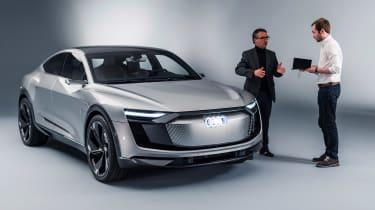 Audi e-tron Sportback concept - front studio