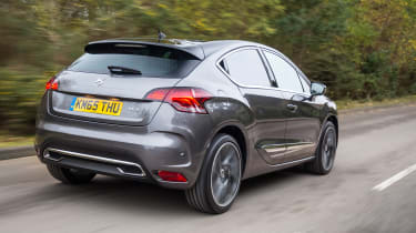 New DS 4 diesel UK drive rear