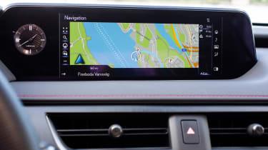 Lexus UX - infotainment