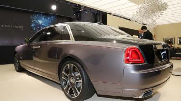 Rolls-Royce Ghost Elegance Geneva - rear