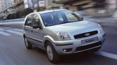 The Ford Fusion was intended to compete with supermini MPV's like the Honda Jazz and Nissan Note.