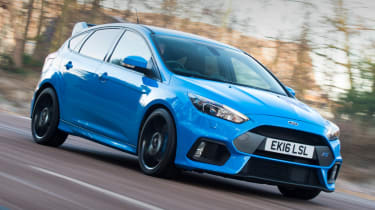 Ford Focus RS - header